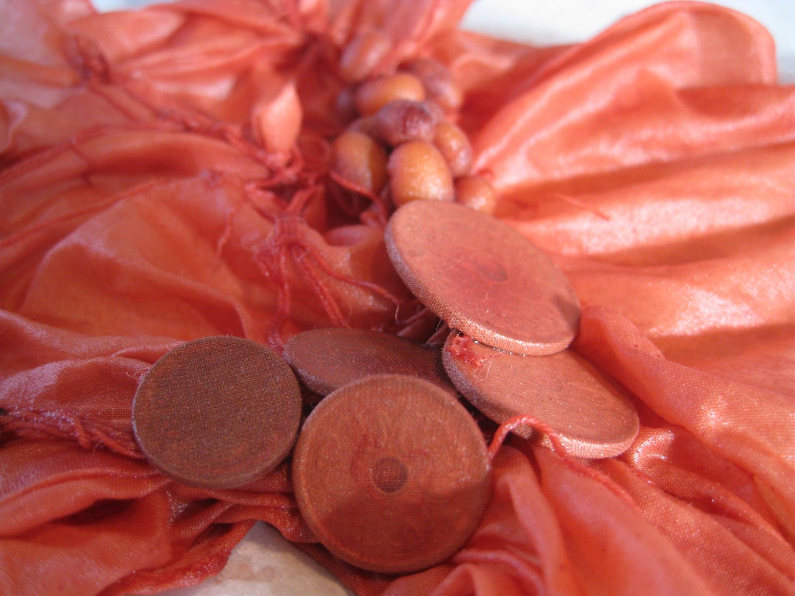 shibori med mønter